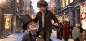 Scrooge con bimbo