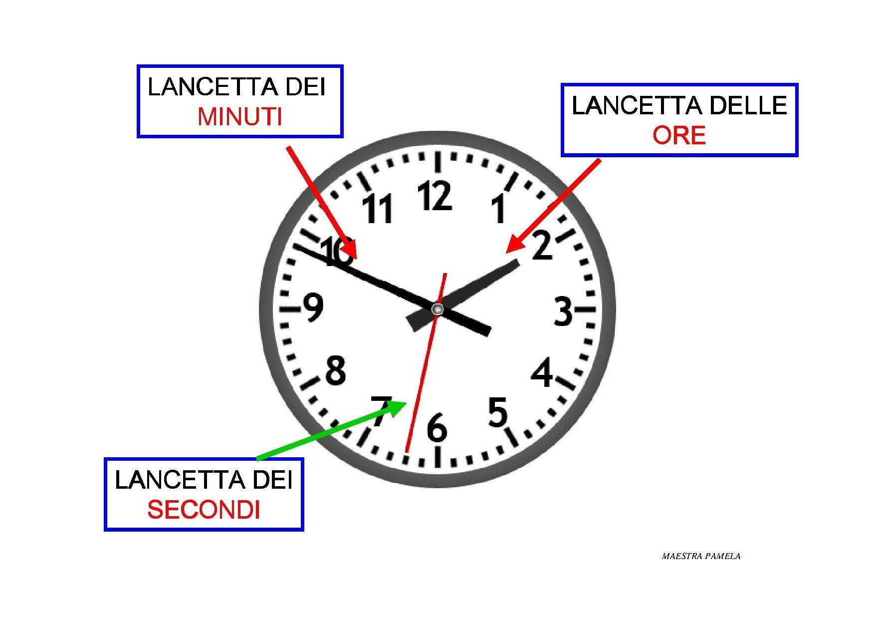 Popolare LEGGERE L'OROLOGIO – ESERCIZIO ON LINE | MAESTRA PAMELA HI33