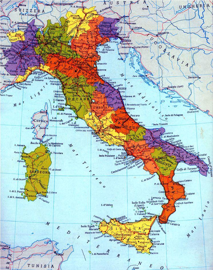 Italia Politica Da Colorare